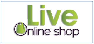 Live Online Shop Logo